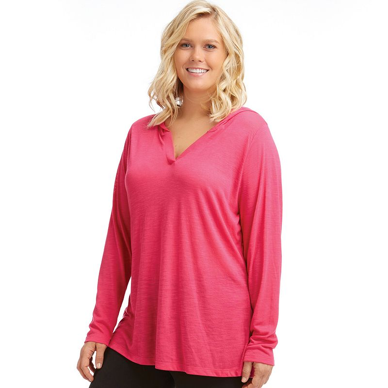 Plus Size Bally Total Fitness Workout Hoodie