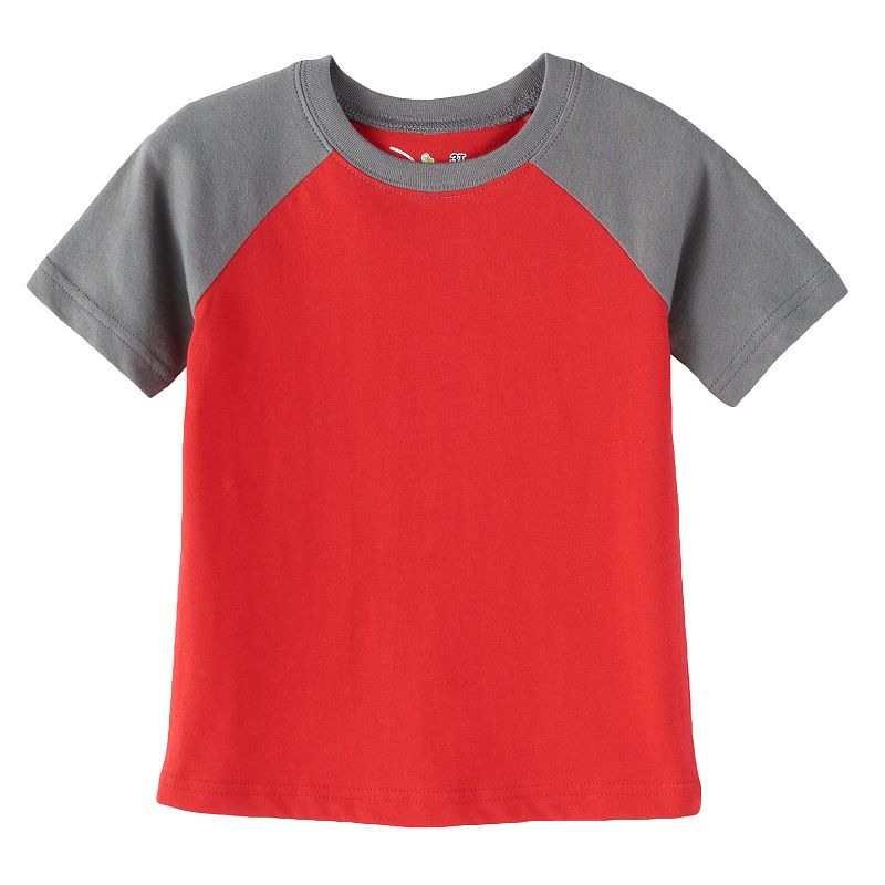 Jumping Beans® Toddler Boy Colorblock Raglan Tee
