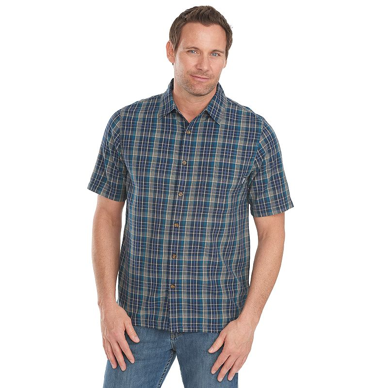 Men's Woolrich Classic-Fit Plaid Button-Down Shirt