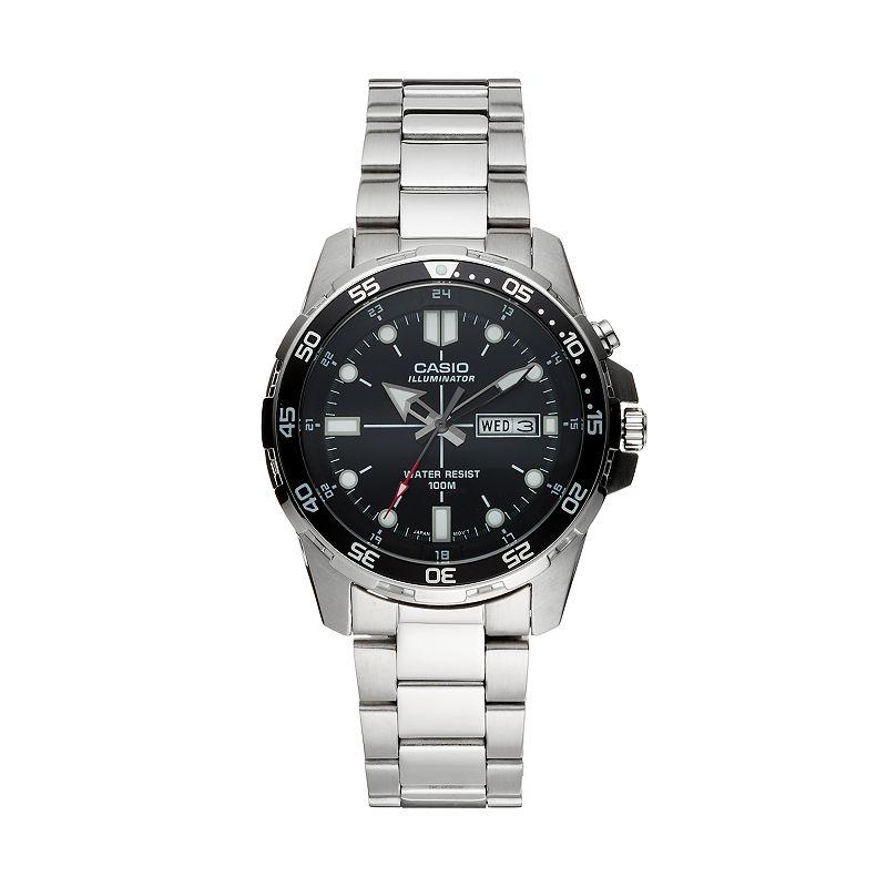 Casio Men's Stainless Steel Watch - MTD1079D-1AV