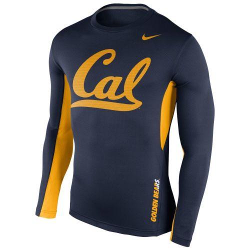 Men's Nike Cal Golden Bears Vapor Dri-FIT Performance Long-Sleeve Tee