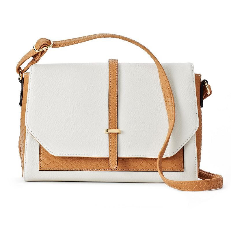 Apt. 9® Cora Snakeskin Mini Crossbody Bag
