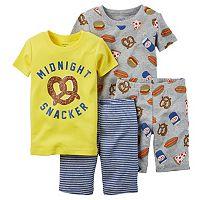 2-Pack Baby Boy Carters Snacks Pajama Set