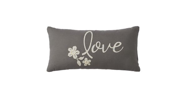 Love Life Throw Pillow : SONOMA Goods for Life Love Throw Pillow