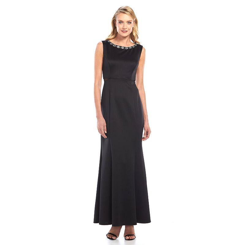 Connected Apparel Embellished Evening Gown - Women's