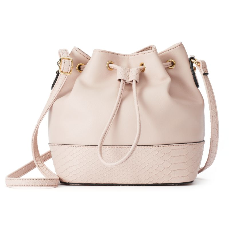 Apt. 9 Cora Mini Bucket Bag, Women's, Brt Pink