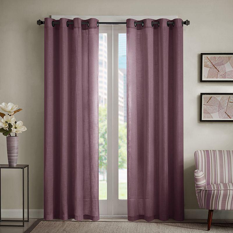 Madison Park Lyndon Linen Blend Curtain