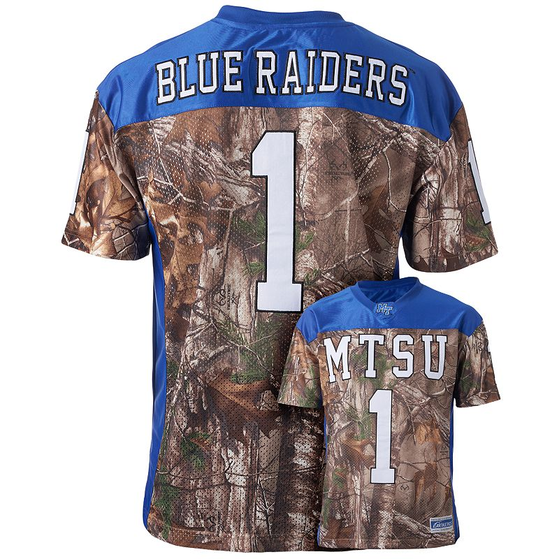 Men's Middle Tennessee Blue Raiders Game Day Realtree Camo Jersey
