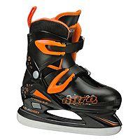 Lake Placid Boys Nitro 8.8 Adjustable Figure Ice Skates