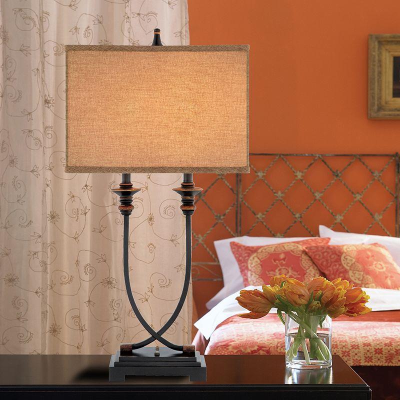 Catalina 31.5'' Linen & Metal Table Lamp