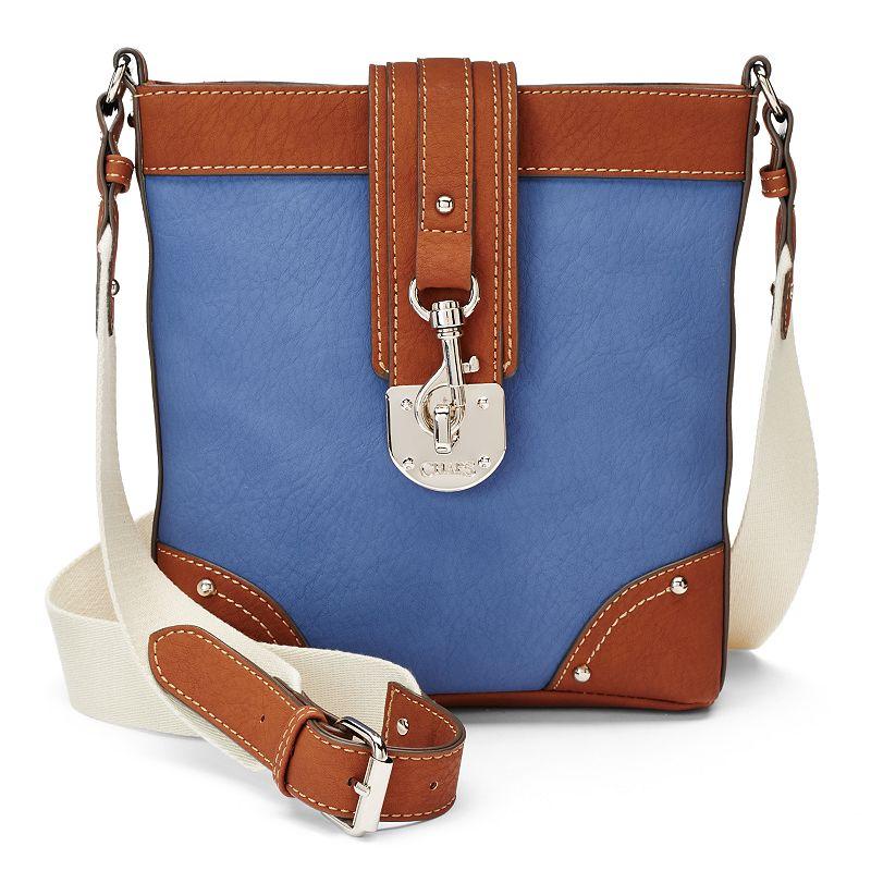 Chaps Triple-Entry Faux Leather Crossbody Bag