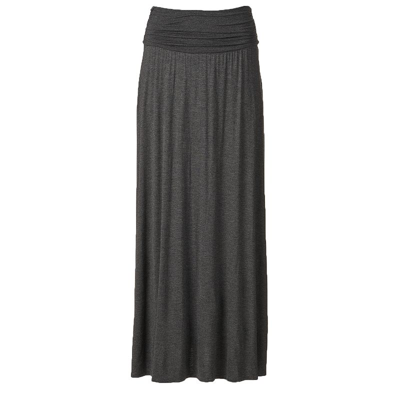 Women's AB Studio Solid Maxi Skirt