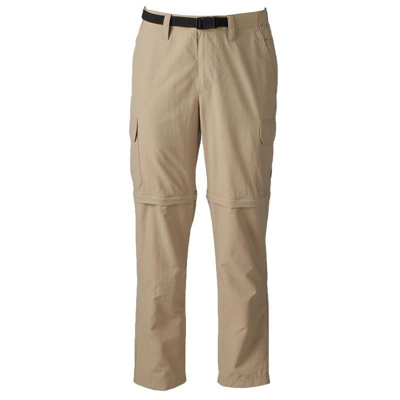 Big & Tall Croft & Barrow® Belted Zip-Off Outdoor Cargo Pants