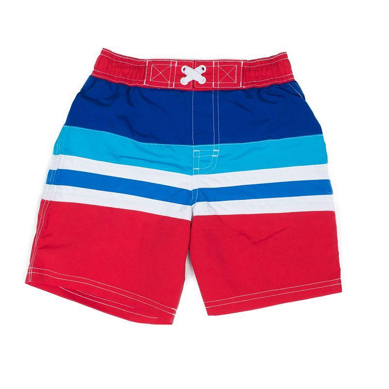 Boys 4-7 I-Extreme Striped Swim Shorts
