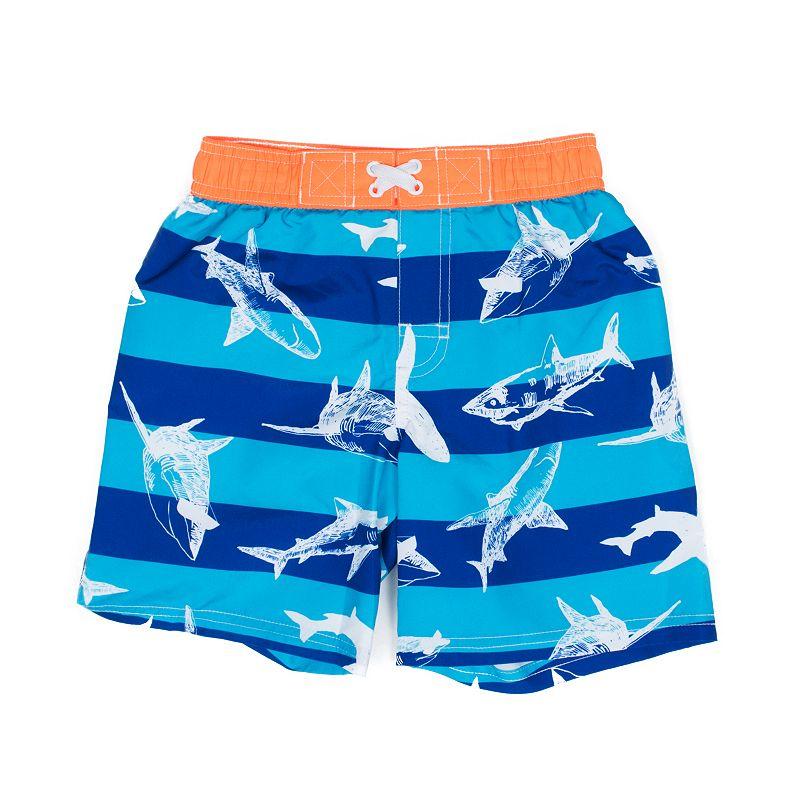 Boys 4-7 I-Extreme Shark Swim Shorts