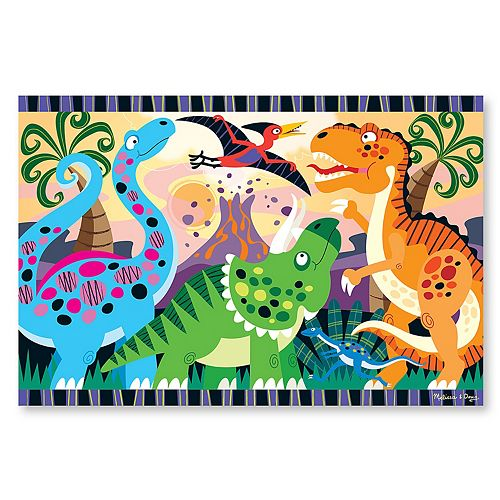 Melissa Amp Doug 24 Pc Dinosaur Dawn Floor Puzzle