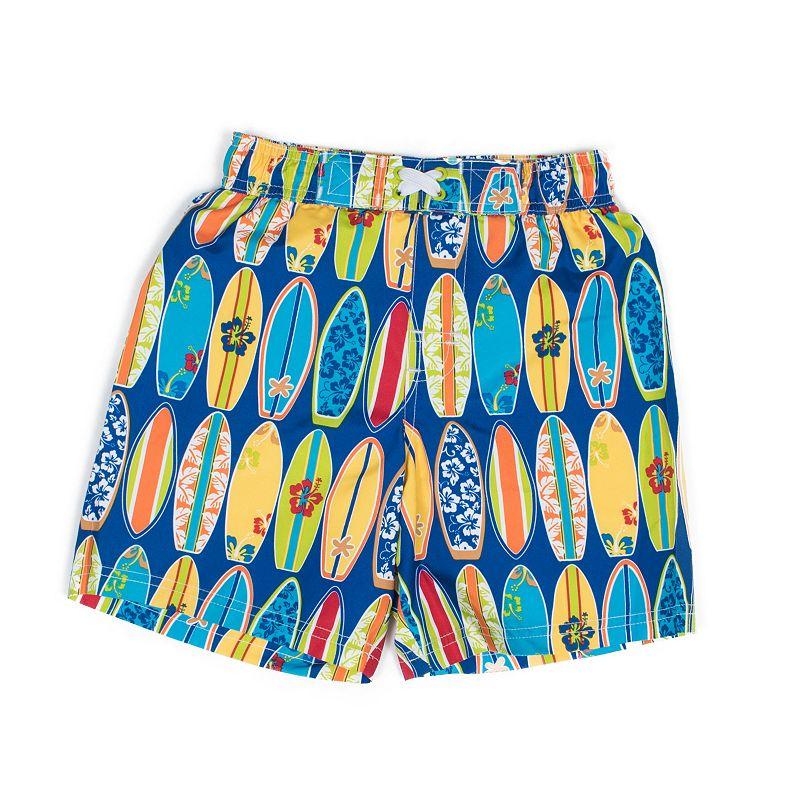 Boys 4-7 I-Extreme Surfboard Swim Shorts