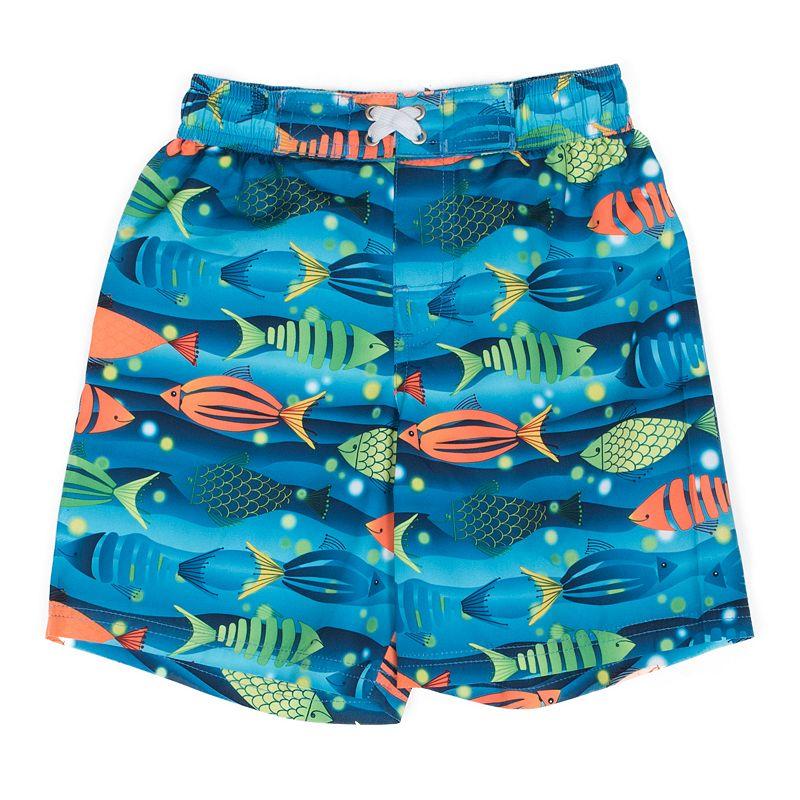 Boys 4-7 I-Extreme Fish Swim Trunks