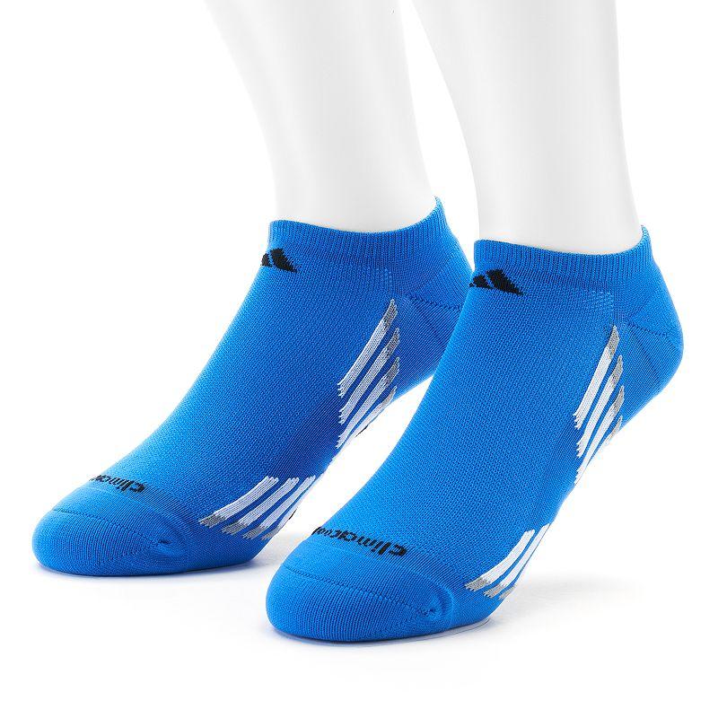 adidas 2-Pack Climacool Performance No-Show Socks - Men