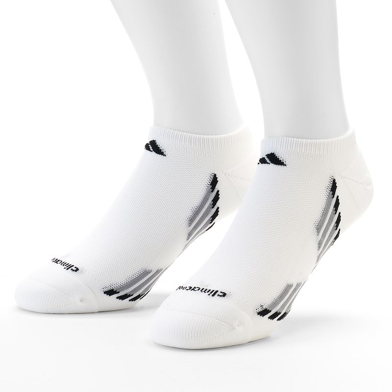 adidas 2-Pack Climacool Performance No-Show Socks - Men