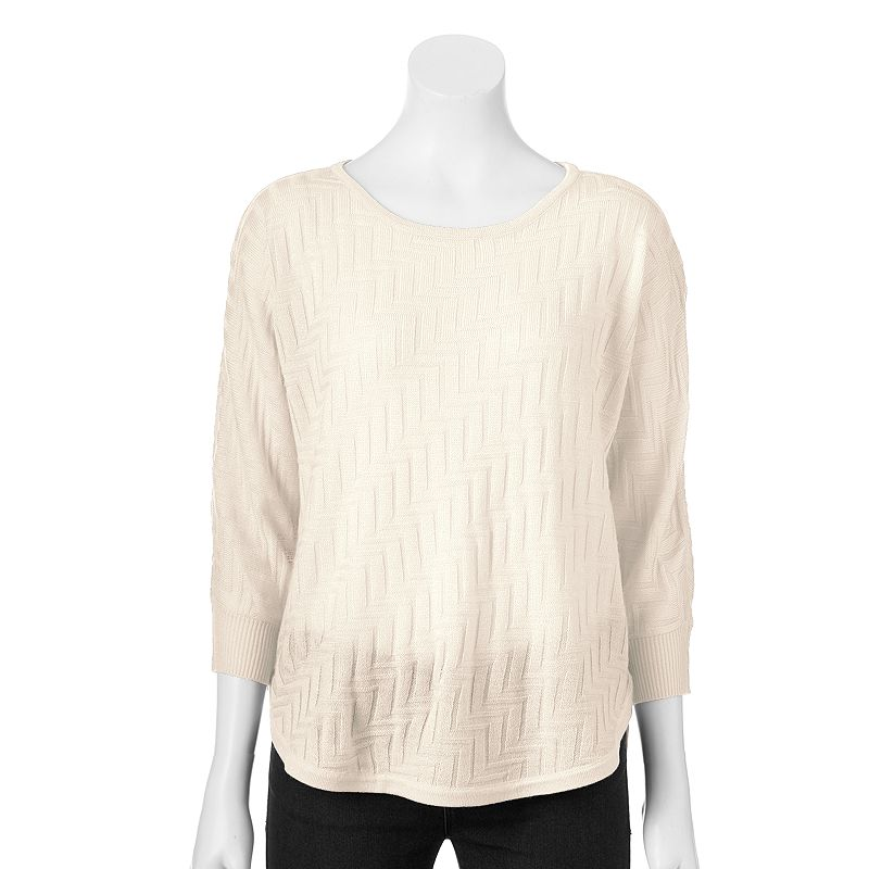 Women's Dana Buchman Zigzag Dolman Sweater