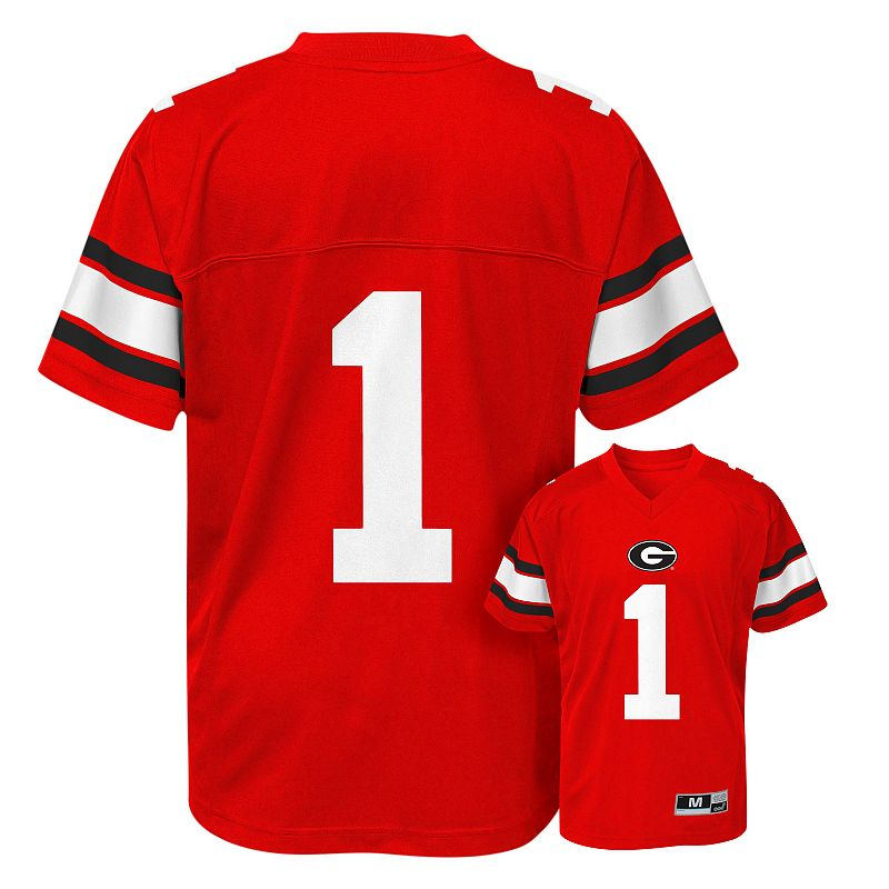 Boys 8-20 Georgia Bulldogs Replica Football Jersey