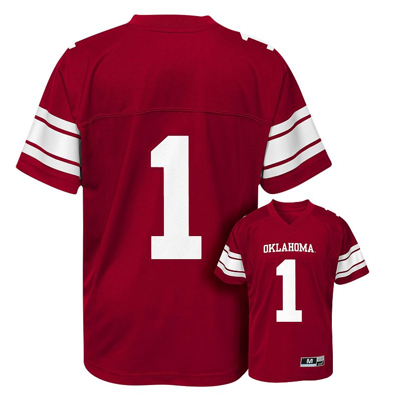 Oklahoma Sooners Replica Football Jersey - Boys 8-20