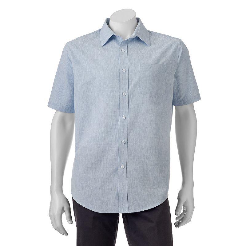 Men's Croft & Barrow® Classic-Fit Easy-Care Microfiber Button-Down Shirt