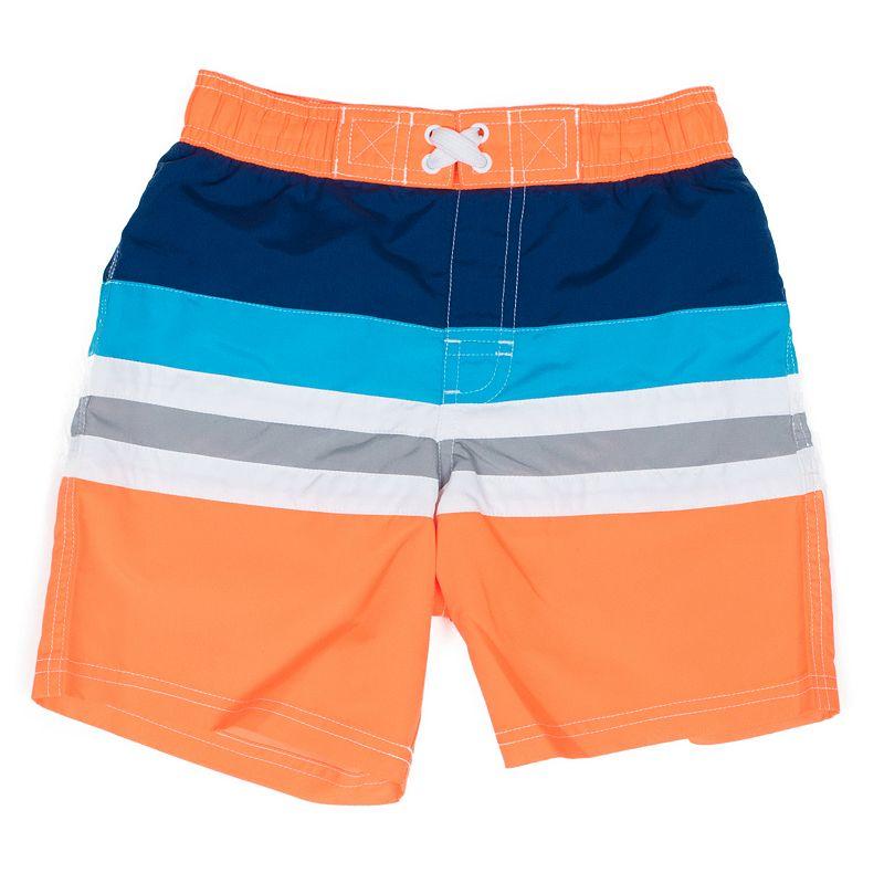 Toddler Boy I-Extreme Striped Swim Trunks