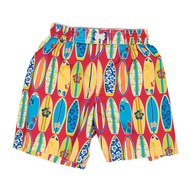 Toddler Boy I-Extreme Surfboard Swim Trunks