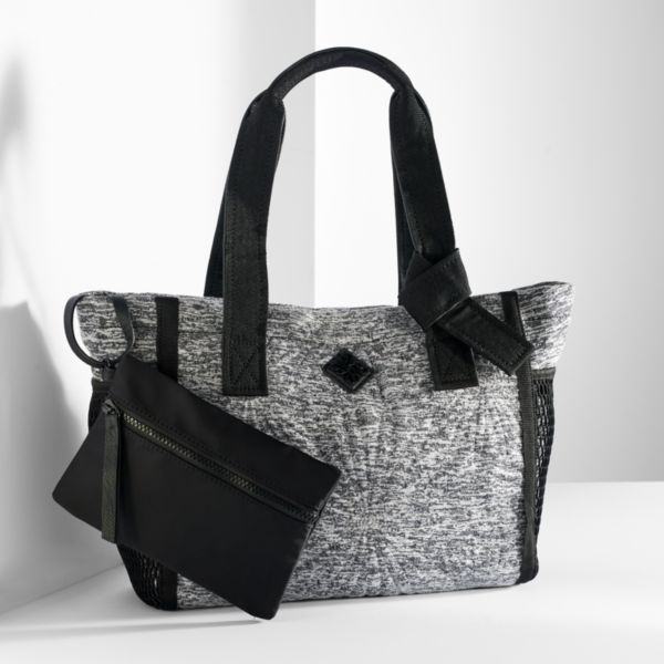 Simply Vera Vera Wang Mesh Pocket Tote