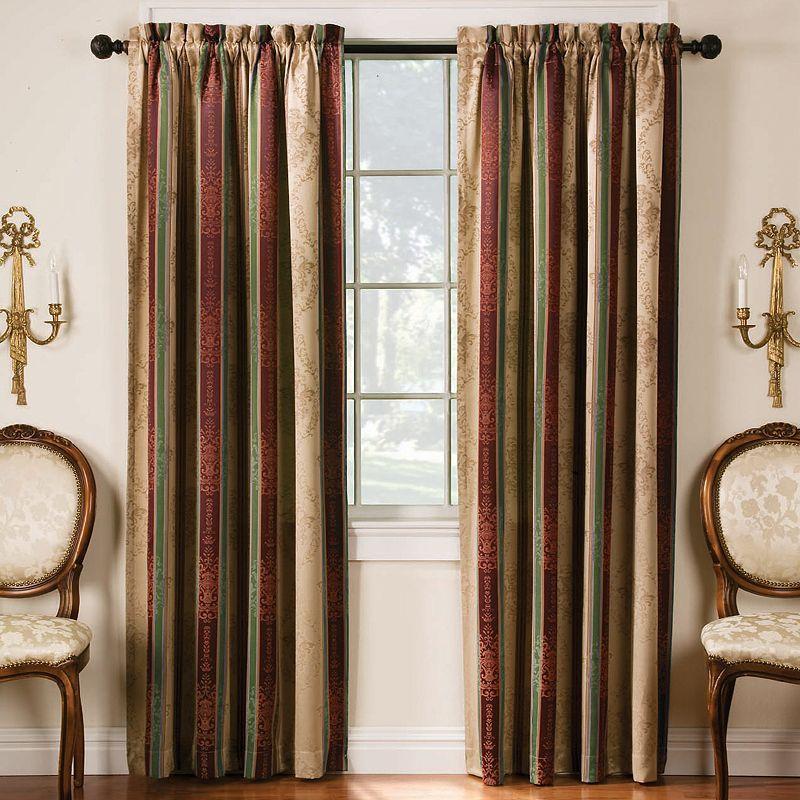 Thermatec 2-pk. Tuscan Stripe Blackout Curtains