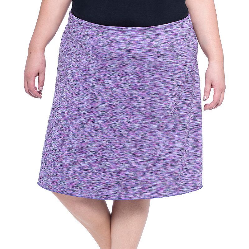 Plus Size Soybu Wanderlust Printed Skirt