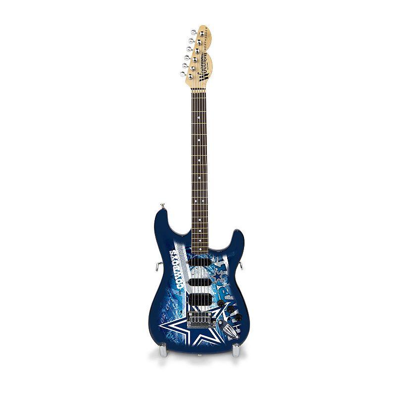 Dallas Cowboys NorthEnder Collector Series Mini Replica Electric Guitar
