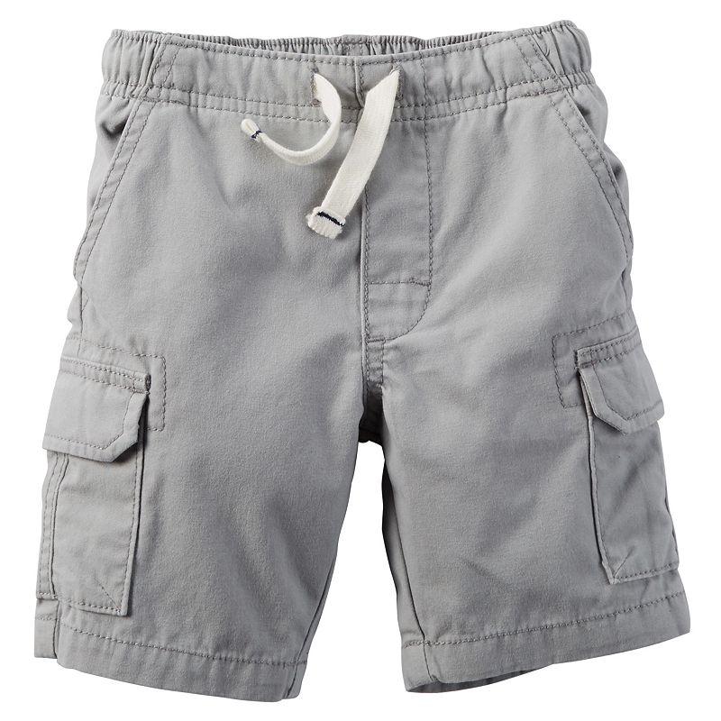 Boys 4-8 Carter's Pull-On Cargo Shorts