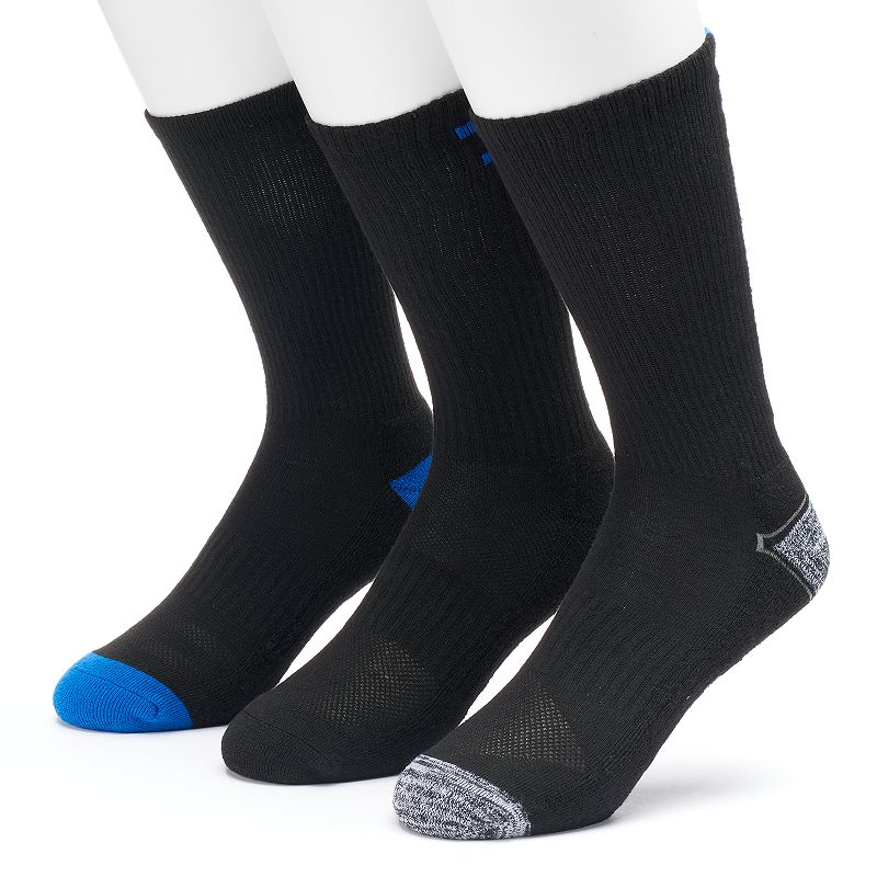 Men's Tek Gear® 3-pack Performance Crew Socks