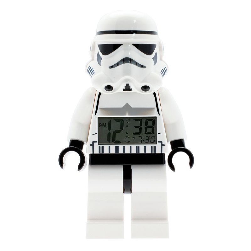 LEGO Star Wars Mini Stormtrooper Alarm Clock by ClicTime