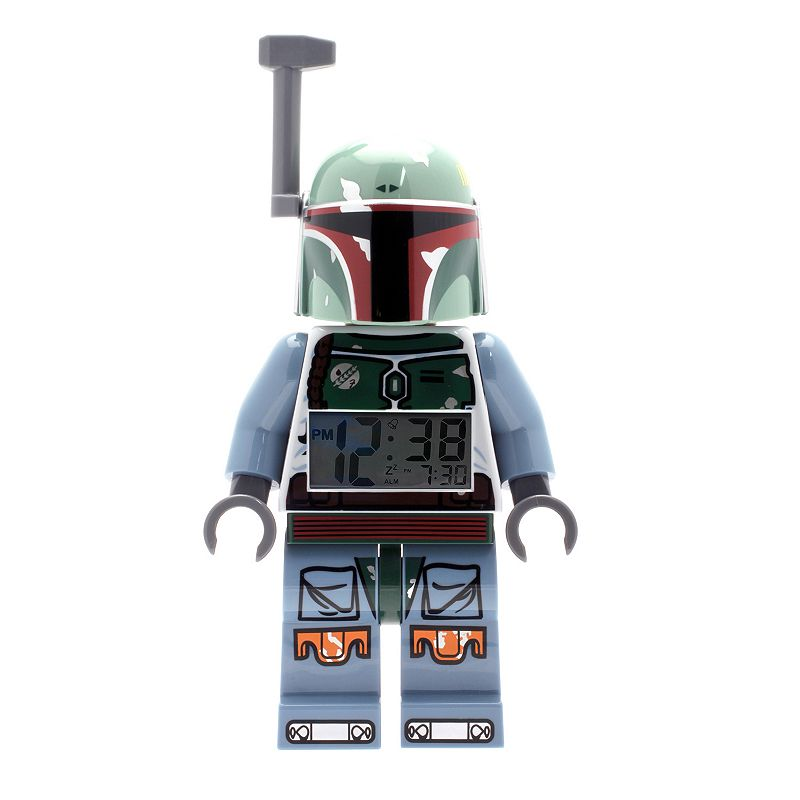 LEGO Star Wars Mini Boba Fett Alarm Clock by ClicTime