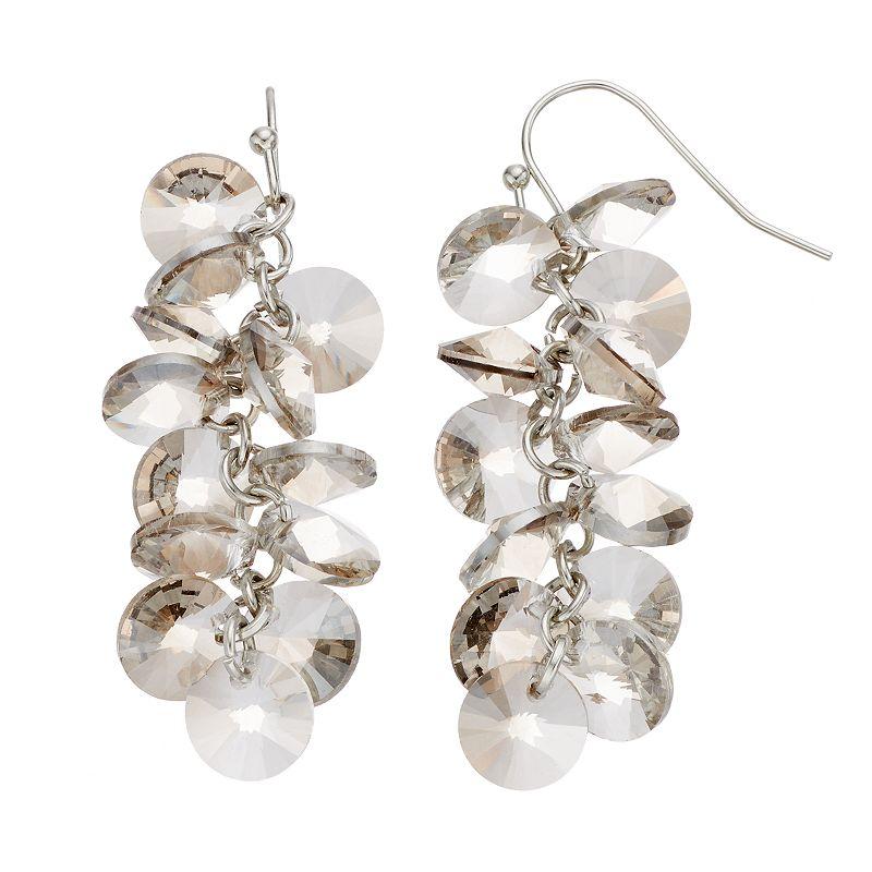 Simply Vera Vera Wang Beaded Cluster Drop Earrings