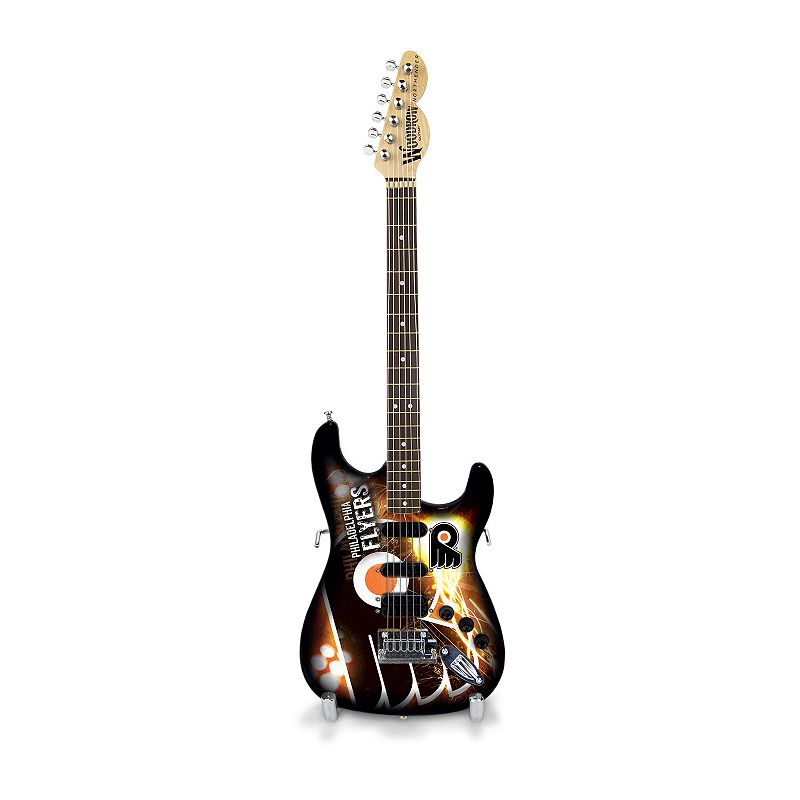 Philadelphia Flyers NorthEnder Collector Series Mini Replica Electric Guitar