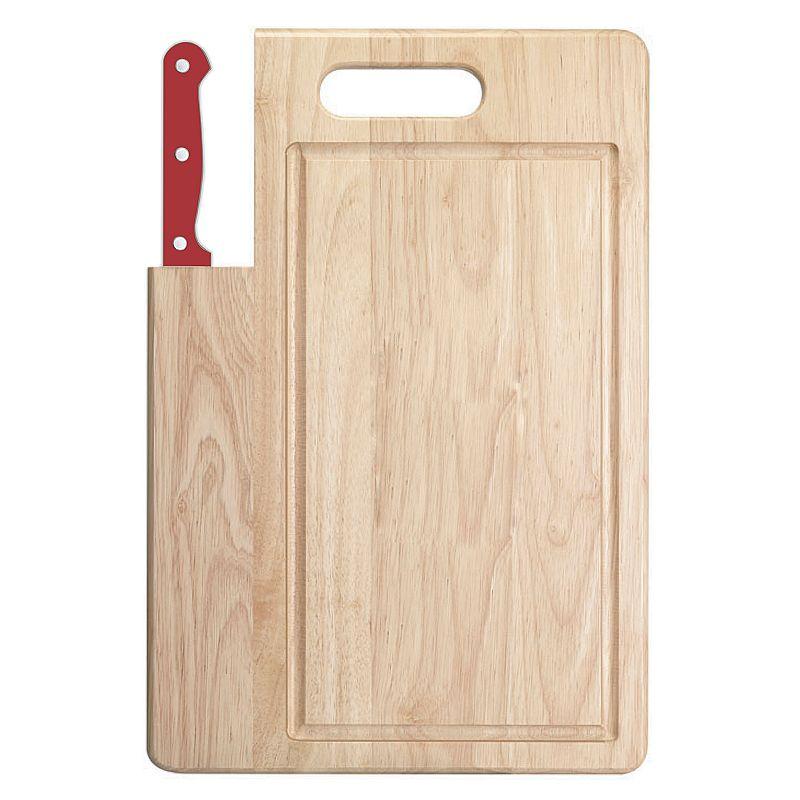 Ginsu Essential Series Santoku Knife & Cutting Board Set