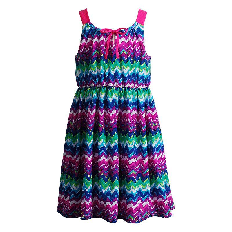Girls 4-6x Youngland Knit Chevron Dress