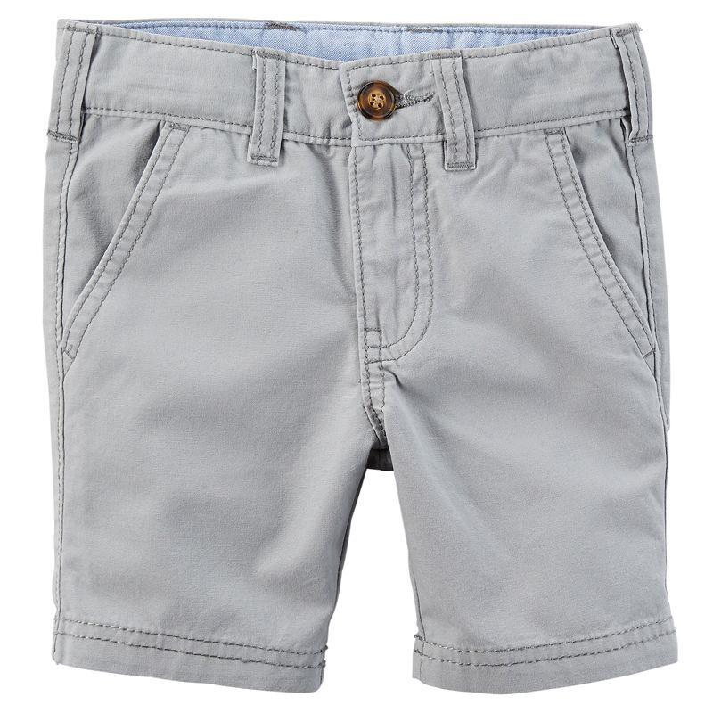 Boys 4-8 Carter's Woven Flat-Front Shorts