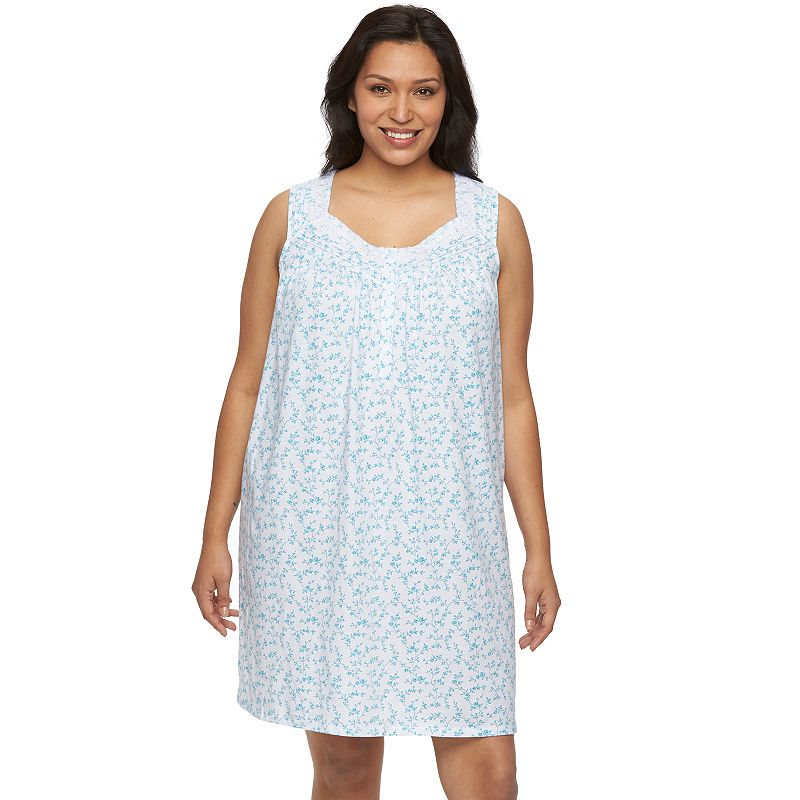 Plus Size Croft & Barrow® Pajamas: Short Nightgown