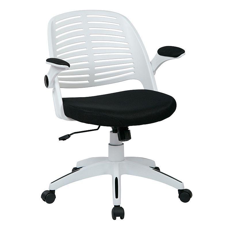 Ave Six White Frame Tyler Office Chair