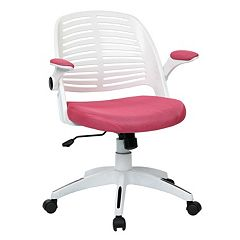 Ave Six White Frame Tyler Office Chair by