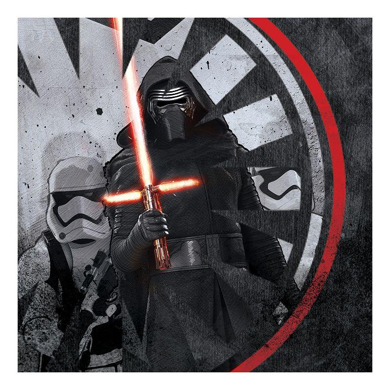 Star Wars: Episode VII The Force Awakens Kylo Ren Icon Distressed Wall Art