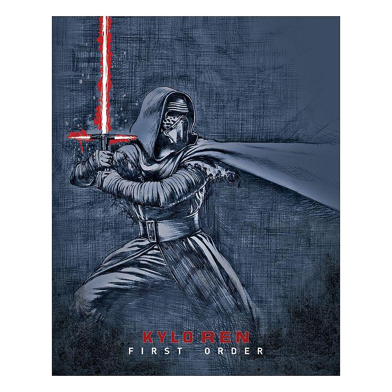 Star Wars: Episode VII The Force Awakens Kylo Ren Sketch Wall Art