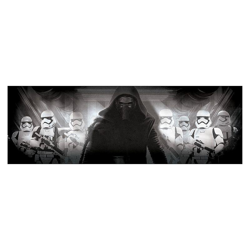 Star Wars: Episode VII The Force Awakens Kylo Ren and Stormtrooper Wall Art