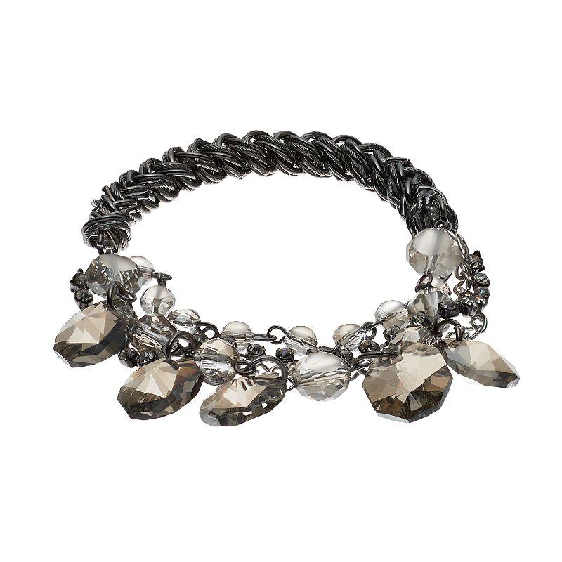 Simply Vera Vera Wang Beaded Stretch Bracelet